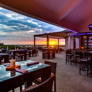 Caribbean Culture, Lifestyle, Belize, Restaurant, Grand Caribe, Rain, Rooftop