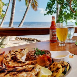 Caribbean Culture, Lifestyle, Belize, Restaurant, Hatchet Caye, Lionfish Grill