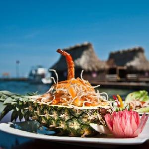 Caribbean Culture, Lifestyle, Belize, Restaurant, Pineapples, Beach, Ramons Village