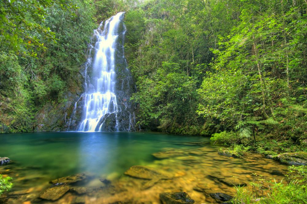 Butterfly Falls - Belize Waterfalls